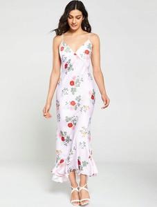 Sukienka Keepsake z satyny maxi