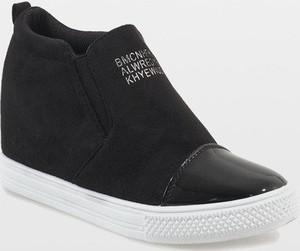 Sneakersy Gemre.com.pl na koturnie