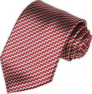 Czerwony krawat Kissties