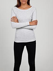 T-shirt Gate z długim rękawem z bawełny w stylu casual