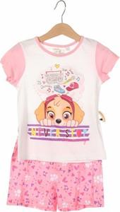 Różowy komplet dziecięcy Nickelodeon