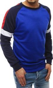 Niebieska bluza Dstreet z bawełny