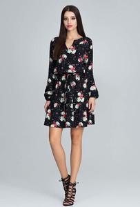 Sukienka Figl mini z dekoltem w kształcie litery v