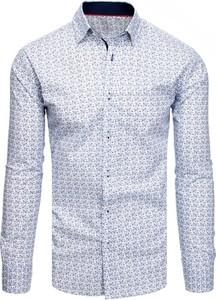 Niebieska koszula Dstreet z długim rękawem z bawełny