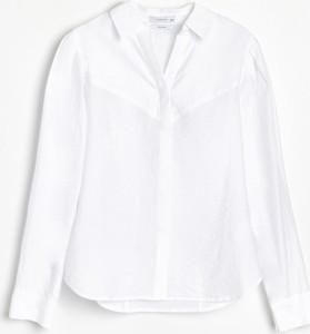 Koszula Reserved z kołnierzykiem z długim rękawem