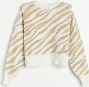 Sweter Reserved w stylu casual z wełny
