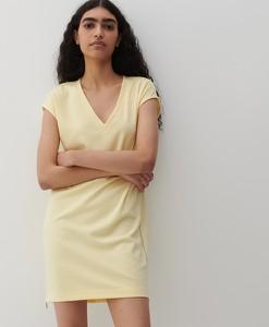 Sukienka Reserved mini z dekoltem w kształcie litery v z krótkim rękawem