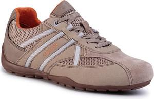 Geox Sneakersy U Ravex C U023FC 0AU14 C5004 Brązowy
