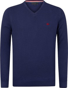 Sweter Sir Raymond Tailor z bawełny w stylu casual