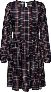Sukienka Only mini oversize z okrągłym dekoltem