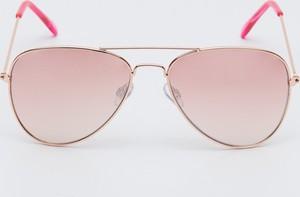 Różowe okulary damskie Sinsay