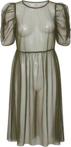 Sukienka A-view z krótkim rękawem