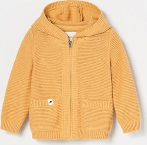 Żółty sweter Reserved dla chłopców