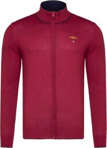 Czerwony sweter Aeronautica Militare