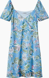 Niebieska sukienka ORSAY w stylu casual mini oversize