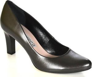 Bravo moda 1381 czarna perła czółenka damskie