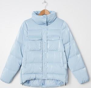 Niebieska kurtka House krótka