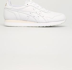 Buty sportowe ASICS ze skóry ekologicznej z płaską podeszwą