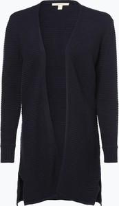 Granatowy sweter Esprit z dzianiny w stylu casual