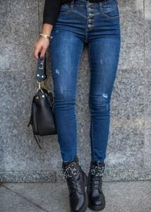 Jeansy Fason z bawełny w stylu casual