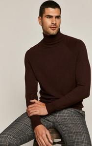 Czerwony sweter Medicine w stylu casual