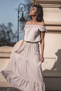 Sukienka Popatu z krótkim rękawem hiszpanka