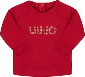Czerwona bluzka dziecięca Liu-Jo Kids