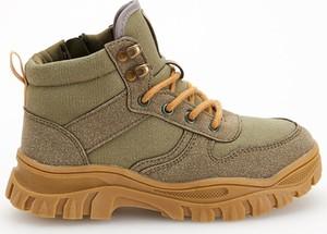 Zielone buty dziecięce zimowe Reserved