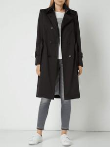 Czarny płaszcz Drykorn w stylu casual