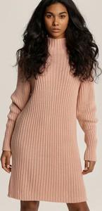 Sukienka Renee z golfem mini z długim rękawem