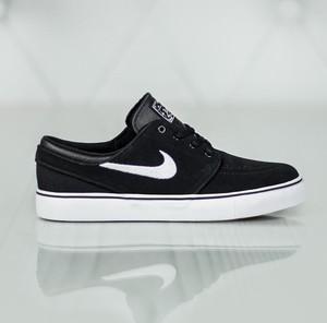 Czarne trampki Nike niskie sznurowane stefan janoski