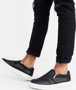 Czarne buty sportowe Loyalty & Faith na zamek