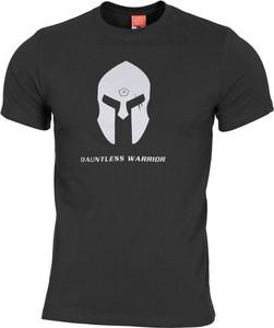 T-shirt Pentagon w młodzieżowym stylu z nadrukiem z krótkim rękawem