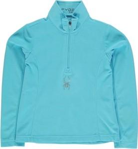 Błękitna koszulka Spyder