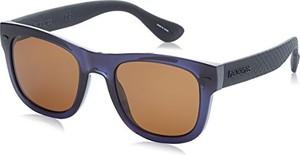 Havaianas Sunglasses Havaianas Okulary przeciwsłoneczne Paraty / L 9N7, Okulary przeciwsłoneczne męskie, niebiesko-czarne z brązowymi soczewkami, 52