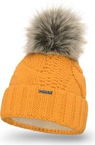Żółta czapka PaMaMi w stylu casual