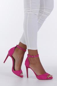 Różowe sandały Casu