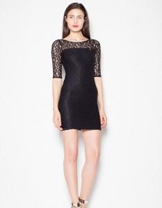 Czarna sukienka Venaton mini