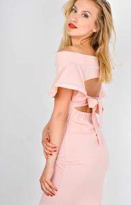 Sukienka Zoio mini z krótkim rękawem