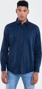 Niebieska koszula Big Star z klasycznym kołnierzykiem