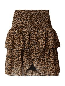 Brązowa spódnica Neo Noir mini