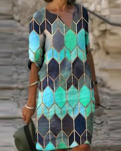 Sukienka Kendallme mini z dekoltem w kształcie litery v z długim rękawem