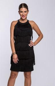 Czarna sukienka Semper