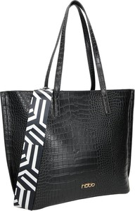 Czarna torebka NOBO na ramię duża