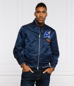 Niebieska kurtka Armani Exchange krótka