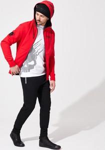 Czerwona bluza DiverseExtreme w stylu casual