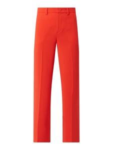 Czerwone spodnie Set
