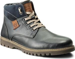Szare buty zimowe rieker