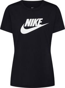 Bluzka Nike Sportswear z krótkim rękawem z bawełny z okrągłym dekoltem