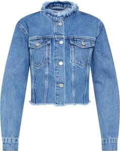 Kurtka NA-KD z jeansu krótka